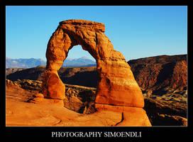 Delicate Arch by simoendli