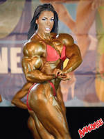 Female muscle 2 by BigDane