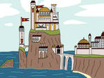 Casterly Rock by TeagBrohman15