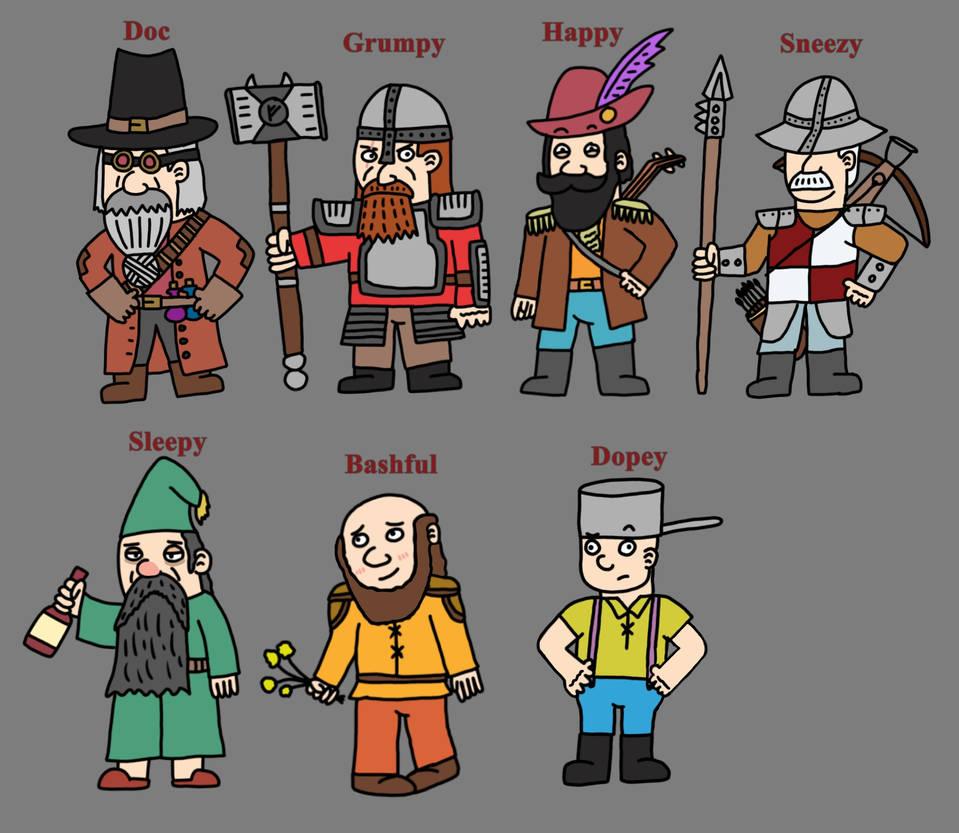 The Seven Dwarves