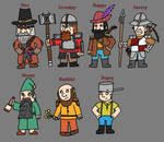 The Seven Dwarves by TeagBrohman15