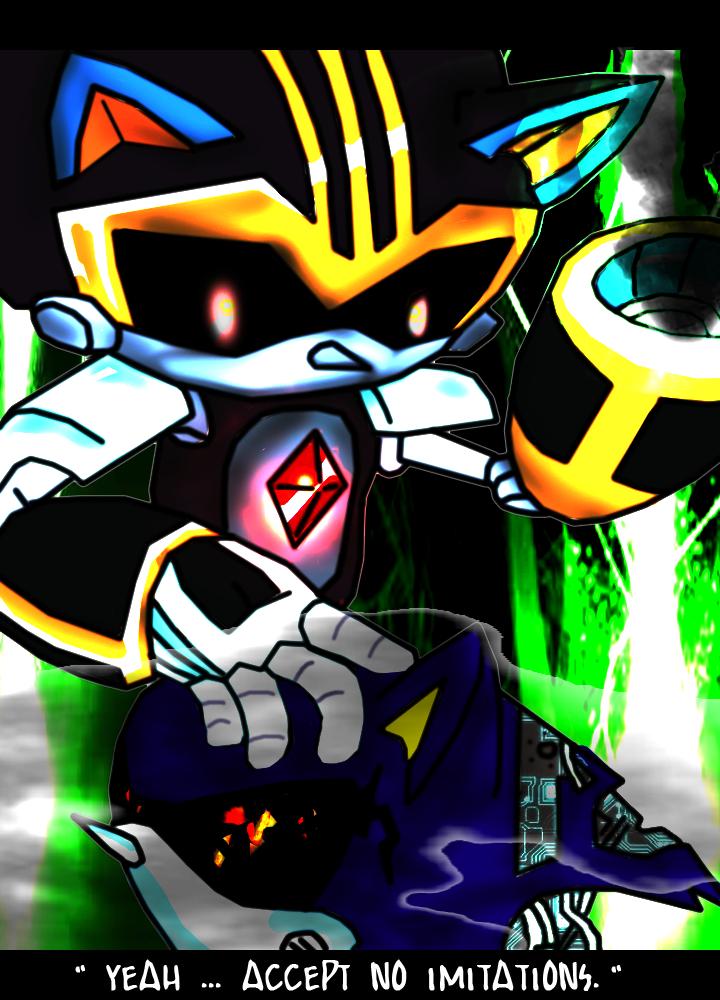 Shard vs Metal Sonic [#240 Tribute] by Phoenaxis