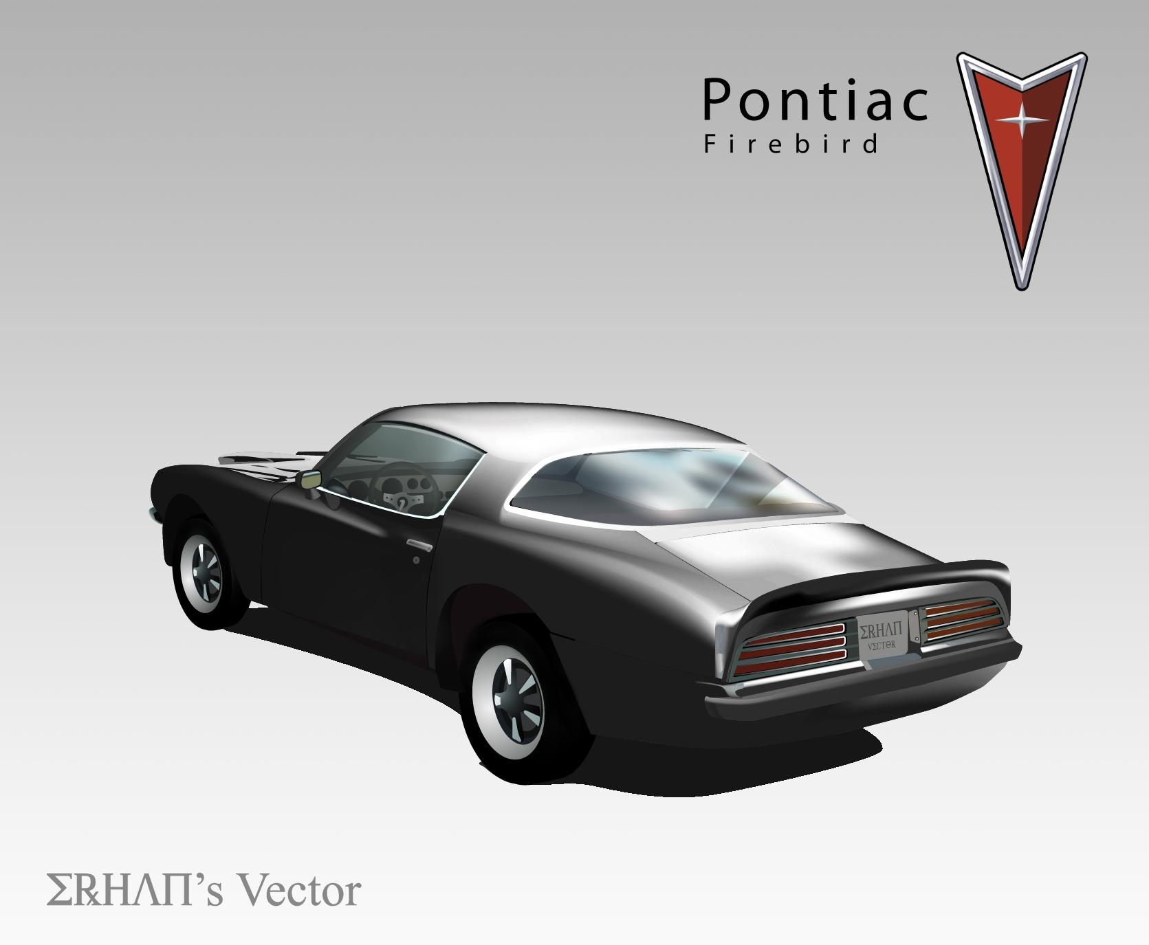 Çalıntı Uyarısı.. Dikkat ! ''Pontiac Firebird Vektör''