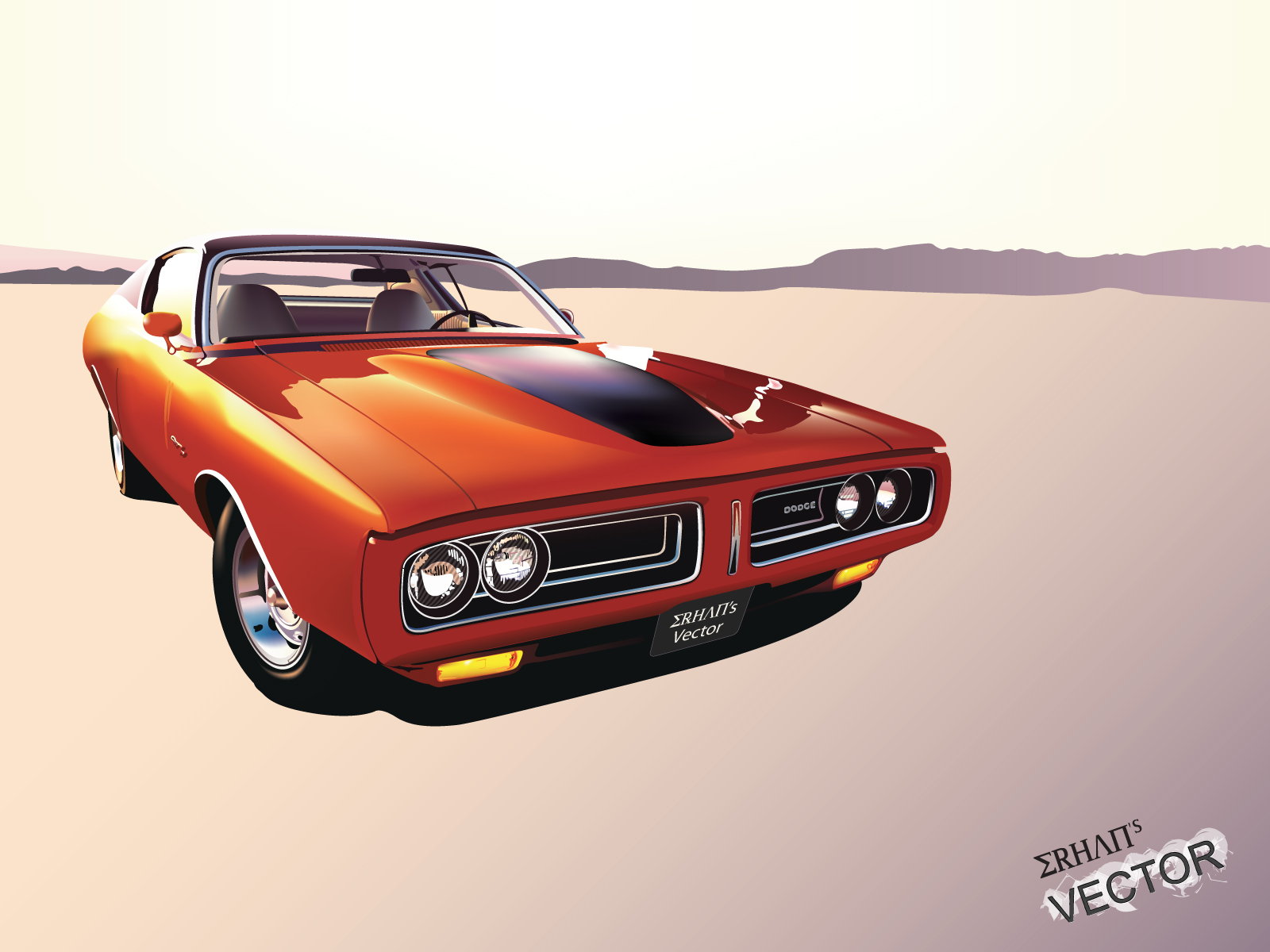Dodge Charger - Vector -