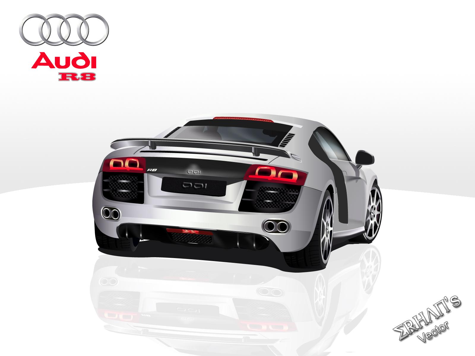 Audi-R8 Vector