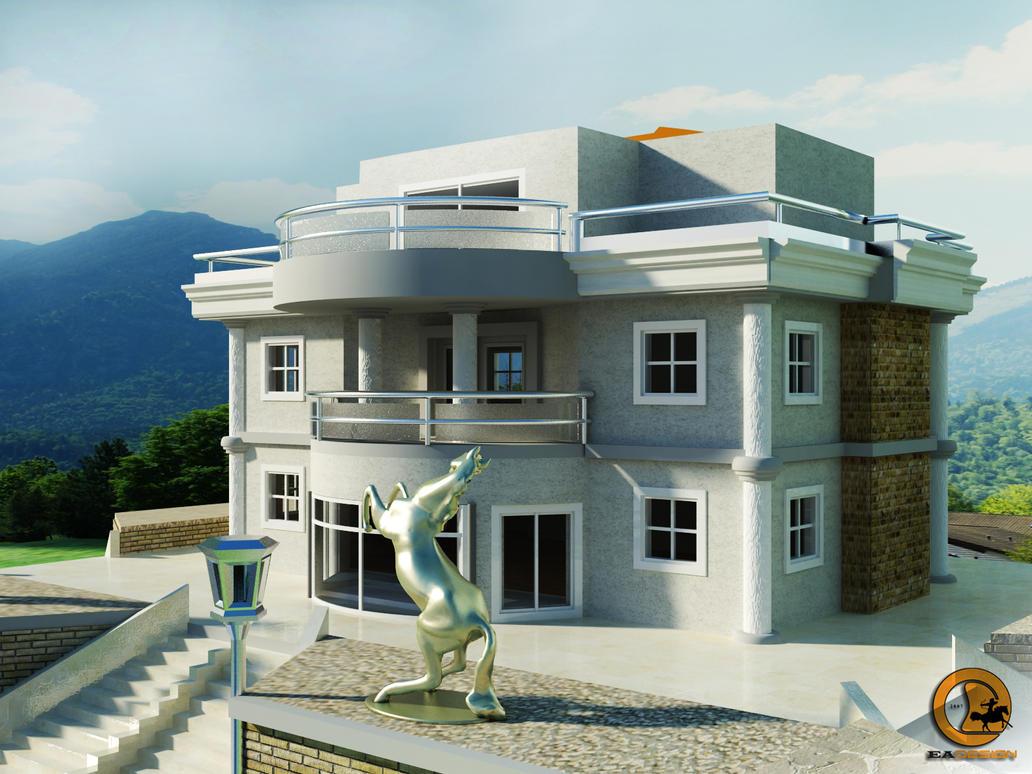 villa houses wallpapers 3d - photo #8