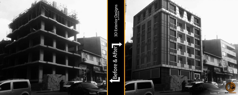 3D Apartment Exterior Design by Imperatore34 on DeviantArt