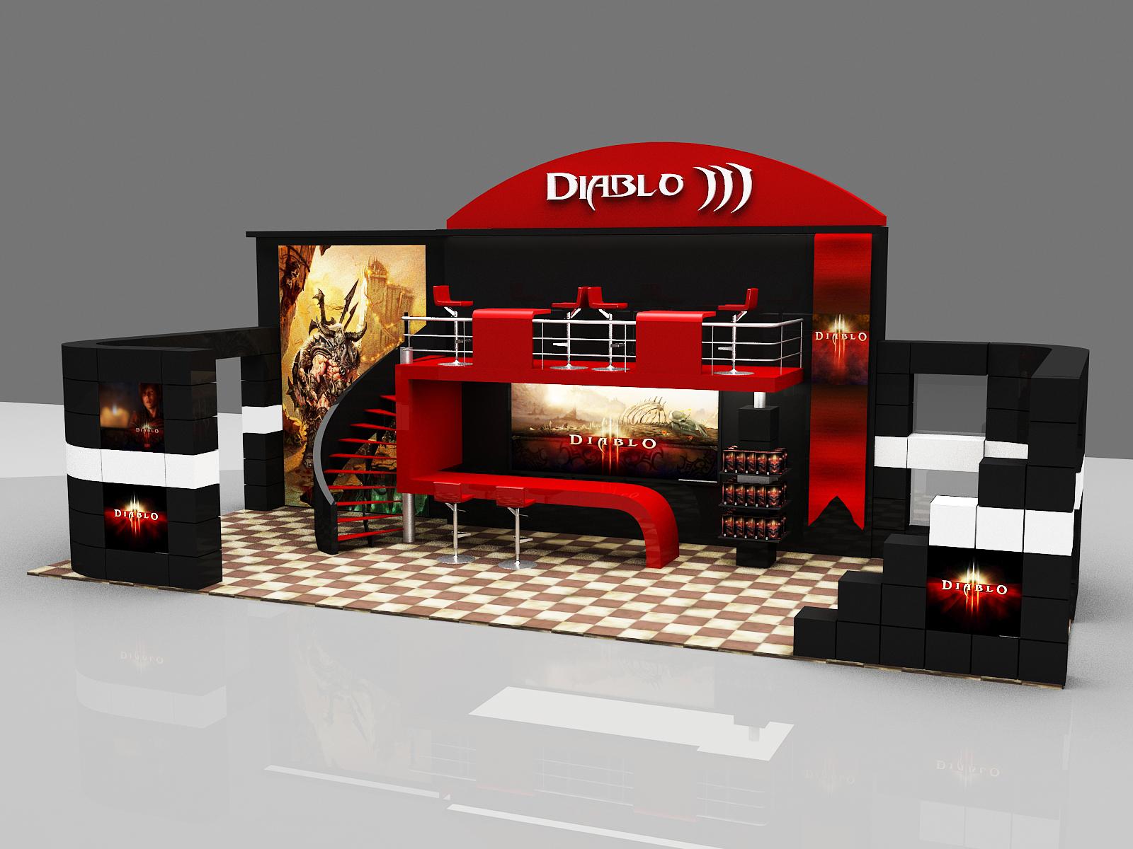 Diablo iii fair stand design by imperatore34 on deviantart - Design fair ...