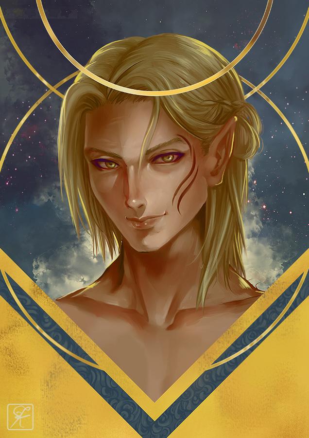 DA:O Zevran Arainai by shuu-washuu