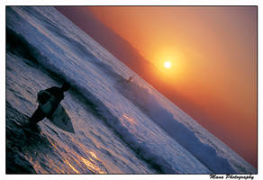 Only A Surfer... by manaphoto