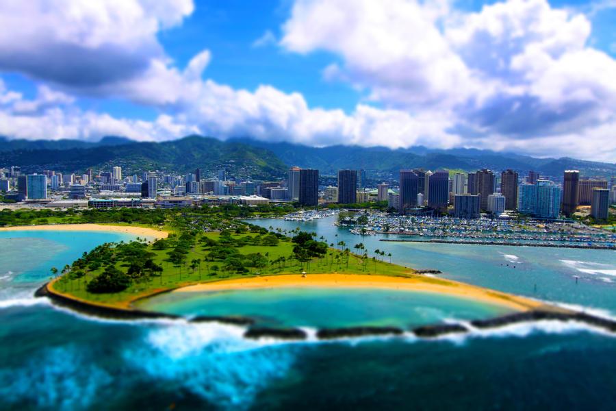 Magic Island, Hawaii by manaphoto