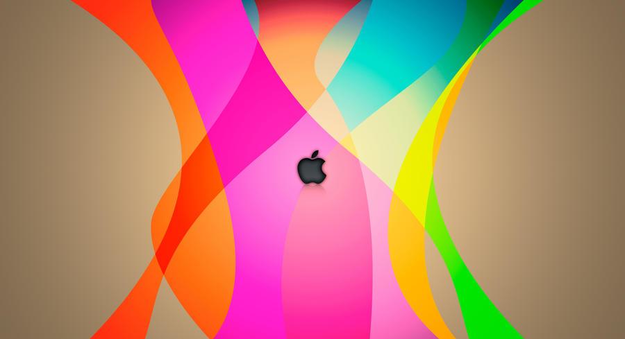 iColor Apple Logo Wallpaper by shran83