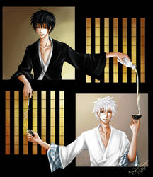 Gintama: Teahouse Vices by kirui