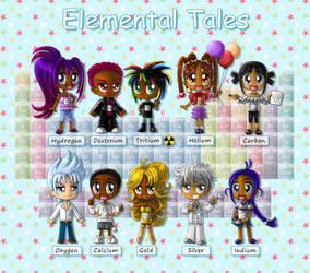 Elemental Tales (Pg. 1 of 5) by BakerChemi