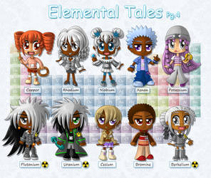 Elemental Tales (Pg. 4 of 5) by BakerChemi