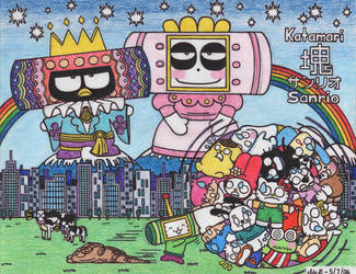 Katamari Sanrio by BakerChemi