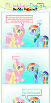 Flutterdash Comic - Be My Penguin