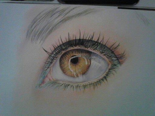 Brown Eye by indigomoonshine