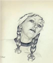 Meg by indigomoonshine