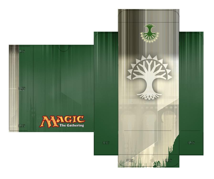 magic the gathering card pdf template