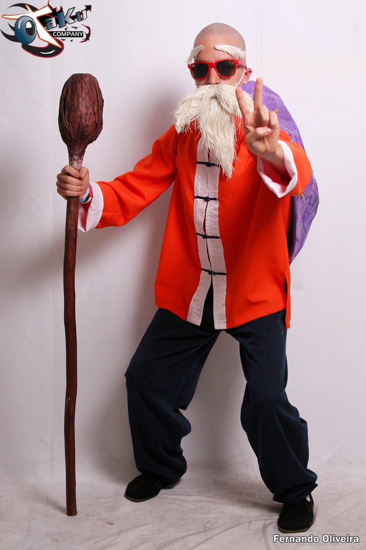 Master Roshi Cosplay by Moyashi-Arts--Chico