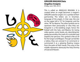 GRIGORI MAGIAN - The Angelius Insignia by FallenAngelGM