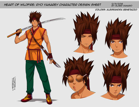 HEART OF WILDFIRE - Ryo Yamarey