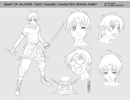 HOW OF WILDFIRE - Tairo Yamarey Lineart