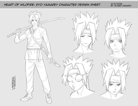 HOW OF WILDFIRE - Ryo Yamarey Lineart