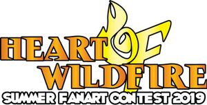 HEART OF WILDFIRE - Summer Fanart Contest '19 Logo