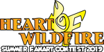 HEART OF WILDFIRE - Summer Fanart Contest '19 Logo by FallenAngelGM
