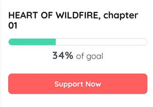 HEART OF WILDFIRE - Chapter 01 Crowdfunding - 34%