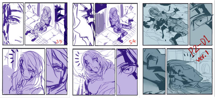 Earth Angel - CH. 01 - Sketches of Page 02