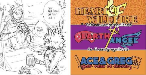 Heart Of Wildfire - Patreon Update 01