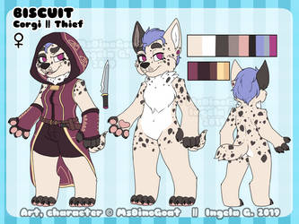 Biscuit ref 2019 by MsDinoGoat