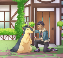 Hop's new friend