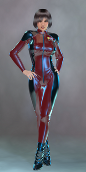 bad girl pinup ups  Commissar