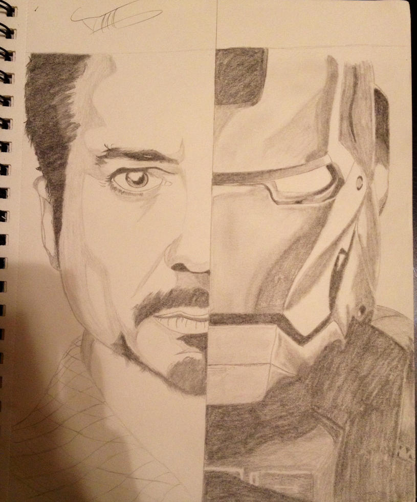 Rdj/ironman by ask-okami-2p-prussia