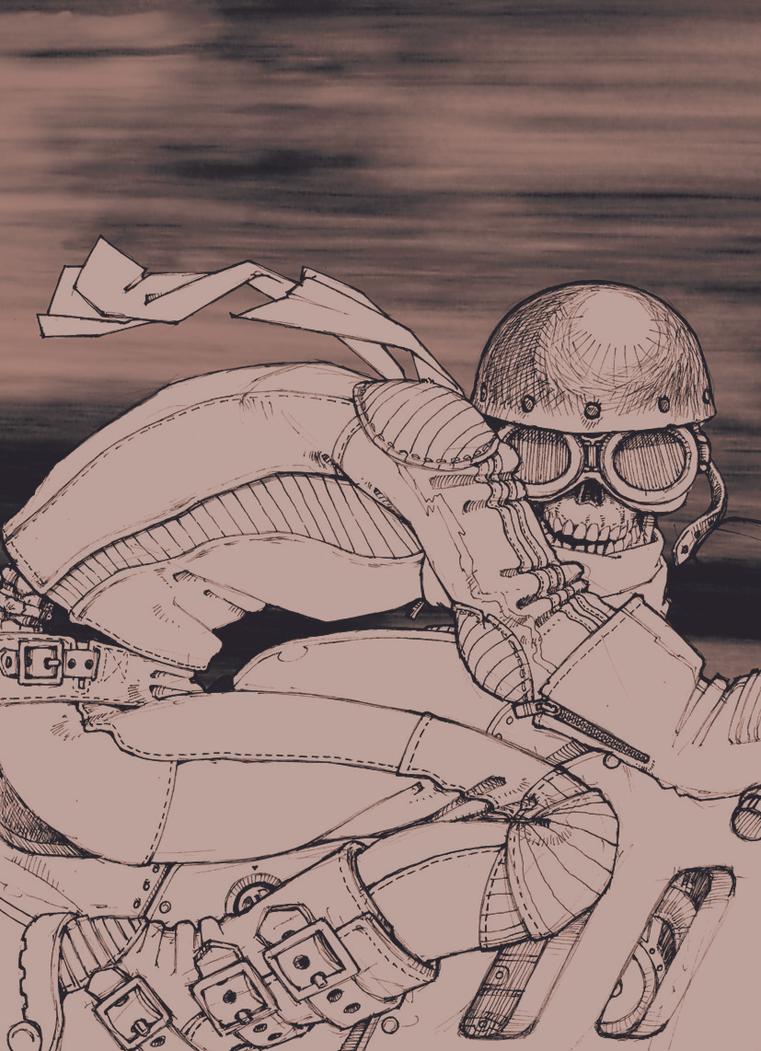 Racing Death by Spoonygee