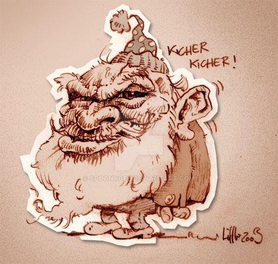 Coffee dwarf by Spoonygee