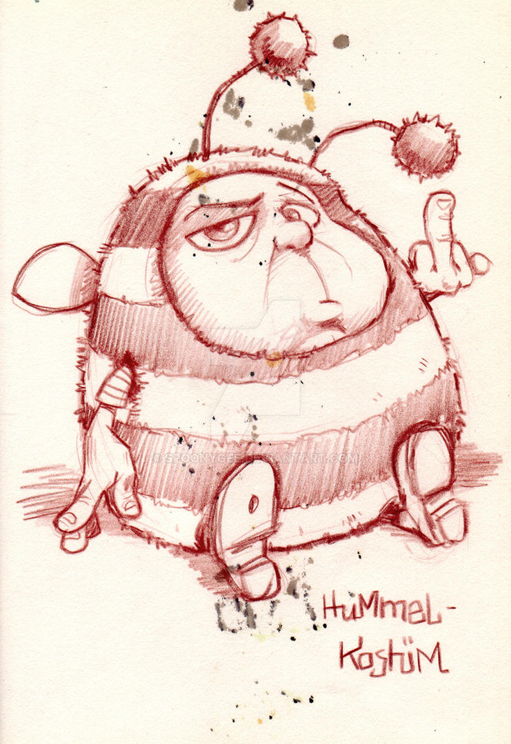 Bumblebee habit by Spoonygee