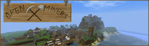 Composed Banner for a minecraft Server