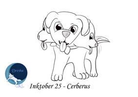 Inktober 25 Cerberus