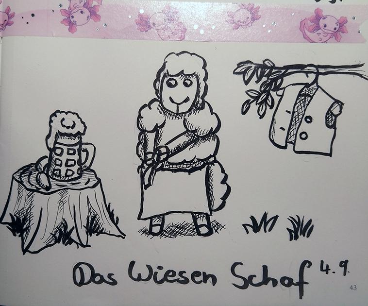 Sheeptember Day 4 - The Wiesen Sheep