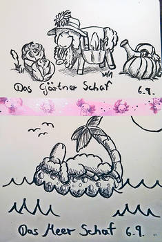 Sheeptember Day 5  and 6