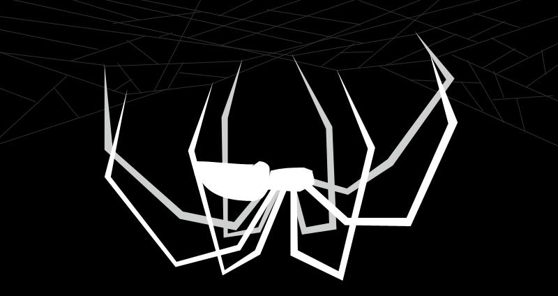 White Black Widow Spider by Animorphza on DeviantArt
