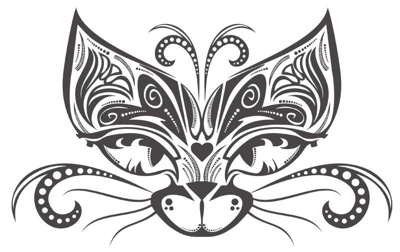Circus Cat by Orriart
