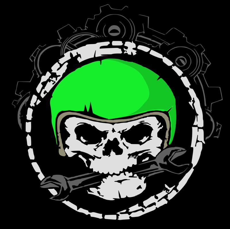 Mech skull by Orriart