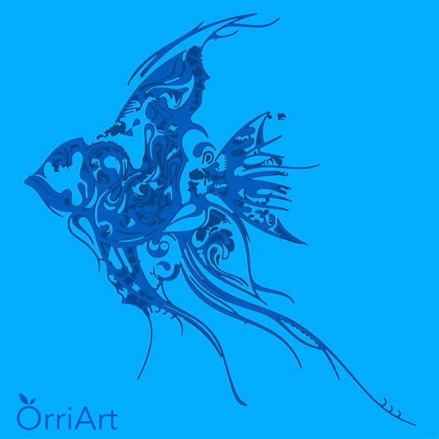 Working progress - Fish by Orriart