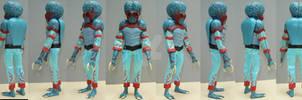 Metaluna Mutant 8 inch EMCE action figure